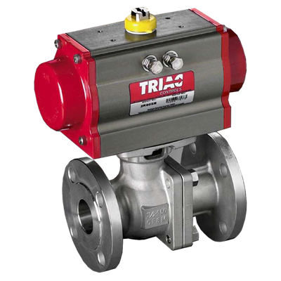 FD9 Series 150# Flanged Automated Ball Valve