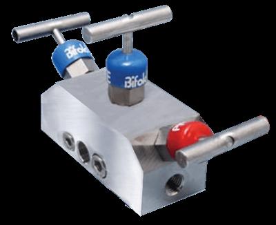 NV06 Double Block & Bleed Single Station Manifold