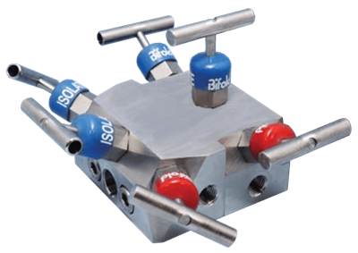 NV06 Double Block & Bleed Two Station Manifold