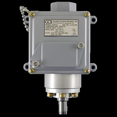 604TU Series Temperature Switch