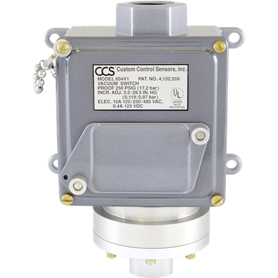 604VZ Series Pressure Switch