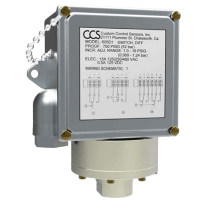 605DZ-7011 Series Pressure Switch