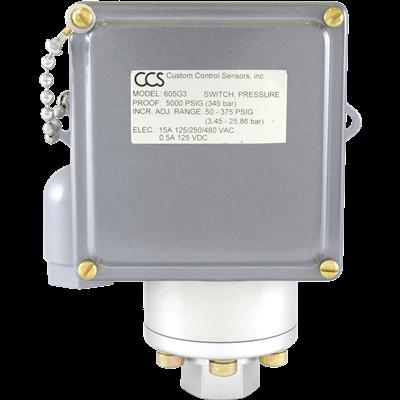 605G Series Pressure Switch