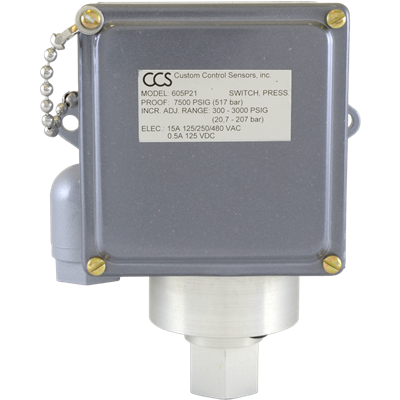 605P Series Pressure Switch
