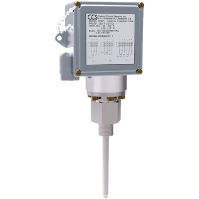 605T Series Temperature Switch