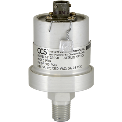 611G Series Pressure Switch