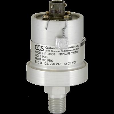 611G Series Pressure Switch