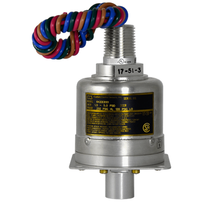 642DE8100 Series Pressure Switch