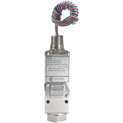6900GZE Series Pressure Switch