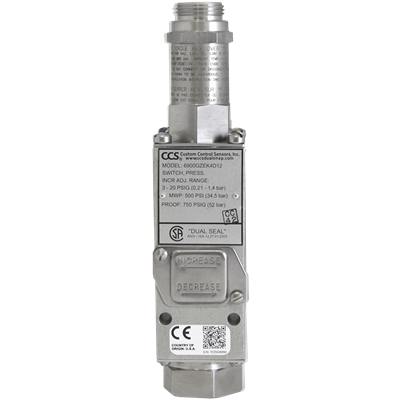 6900GZEK Series Pressure Switch