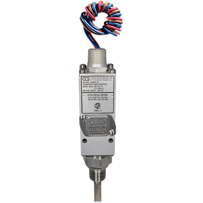 6900T Series Temperature Switch