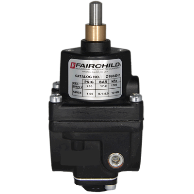 Model 16 Vacuum/Positive Pressure Regulator