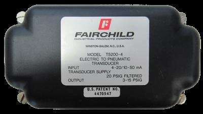 Model T5200 Fast Response I/P, E/P Pressure Transducer