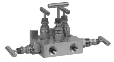 Model 505DM 5-Valve Manifold