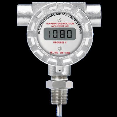 Model 8080KN Battery Operated Digital Temperature Indicator