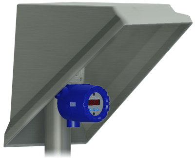 1200 Series Sunshade for Process Instrument