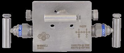 M-500 Three-Valve Manifold