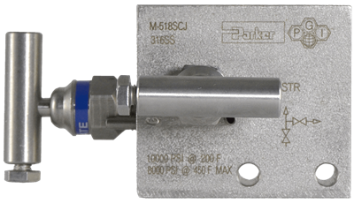 M-518 Two-Valve Manifold