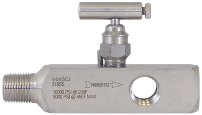 V-516 Multi-Port Gauge Valve