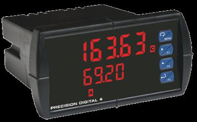 PD6363 ProVu Dual Pulse Input Flow Rate/Totalizer