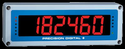 """PD650 Aluminum NEMA 4X Process Meter With 2.3"""" Display"""