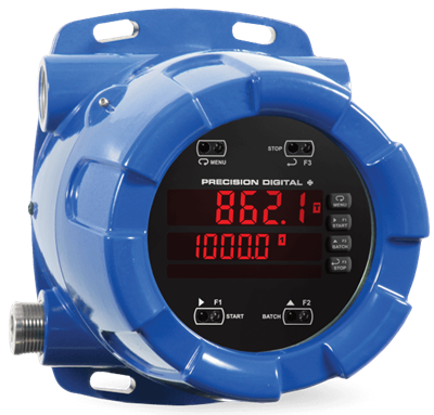 PD8-6210 ProtEX-MAX Explosion-Proof Analog Input Batch Controller