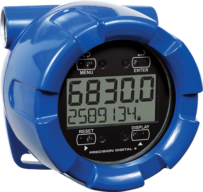 PD6830 ProtEX-RTP Explosion-Proof Pulse Input Flow Rate/Totalizer