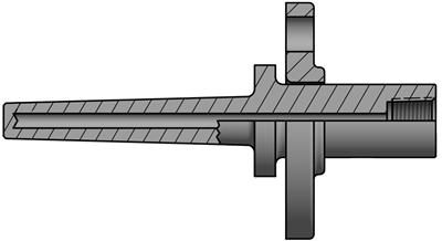 Heavy-Duty Van Stone Thermowells