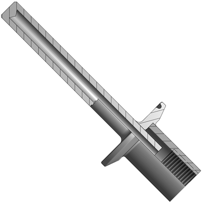 Sanitary-Connected Thermowell