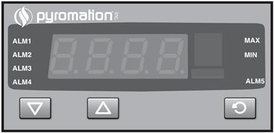 Series 810 1/8 DIN Digital Indicator