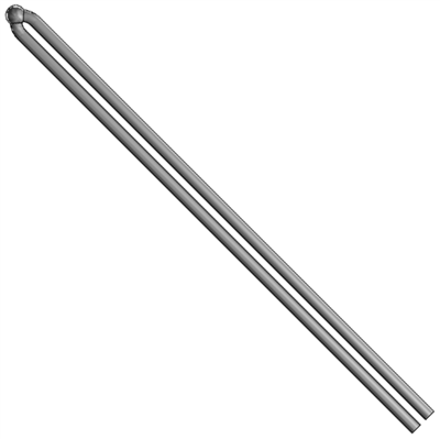 Straight Base-Metal Thermocouple Element