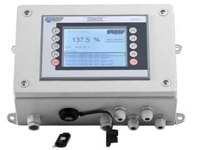 COACH-II Data Recording & Management - System for EOT Crane