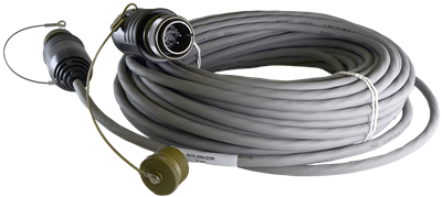 Male to Female Military Style Cable, 23M
