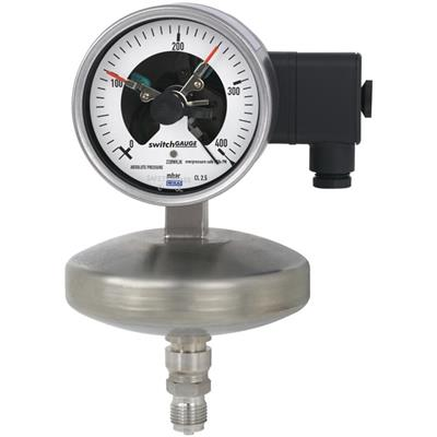 Model 532.53+8xx Absolute Pressure Gauge with Switch Contact