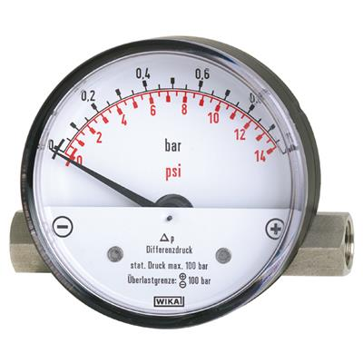 Model 700.01, 700.02 Differential Pressure Gauge