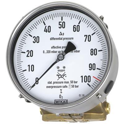 Model 712.15.160, 732.15.160 Differential Pressure Gauge