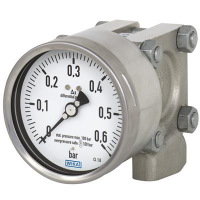 Model 732.14, 762.14 Differential Pressure Gauge