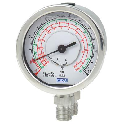 Model 732.18, 733.18 Differential Pressure Gauge