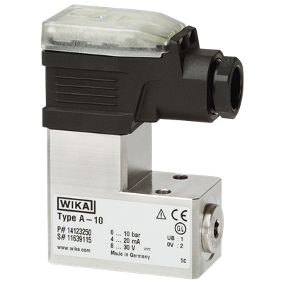 Model A-10 Block Design Pressure Transmitter