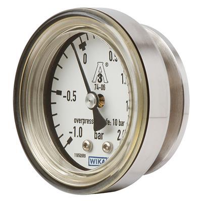 Model PG43SA-C Diaphragm Pressure Gauge Flush