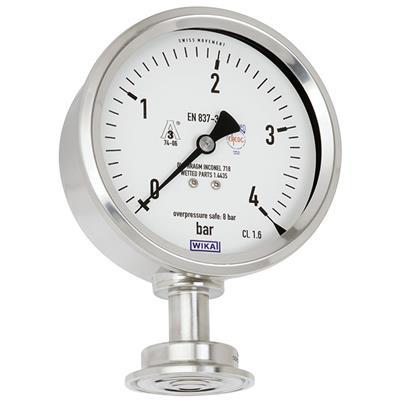 Model PG43SA-S Diaphragm Pressure Gauge Flush