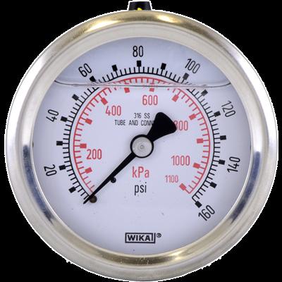 233.53 Stainless Steel Bourdon Pressure Gauge
