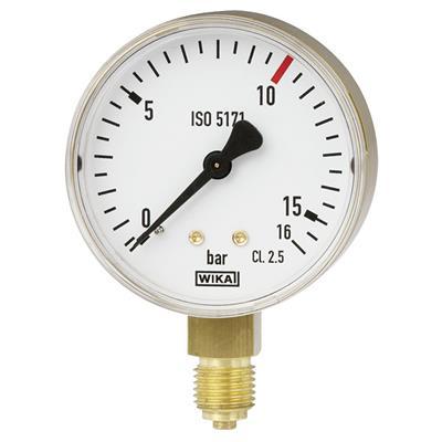 Bourdon Tube Pressure Gauge, Copper Alloy - 111.11