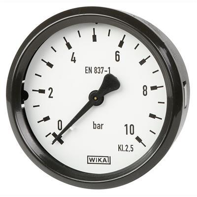 Bourdon Tube Pressure Gauge, Copper Alloy - 111.16, 111.26