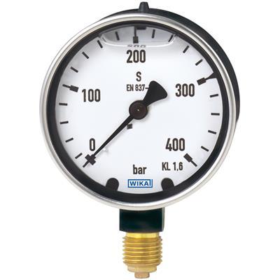 Bourdon Tube Pressure Gauge, Copper Alloy - 213.40