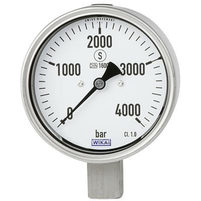 Bourdon Tube Pressure Gauge, Stainless Steel - NewPG23HP-P