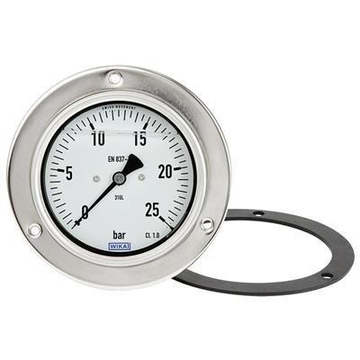 Bourdon Tube Pressure Gauge, Stainless Steel - PG23CP