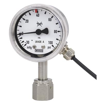Bourdon Tube Pressure Gauge with Switch Contacts - 230.15-851