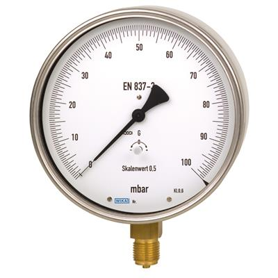 Test Gauge, Copper Alloy or Stainless Steel - 610.20, 630.20