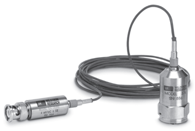 Model 376/CC701HT Accelerometer/Charge Amplifier System